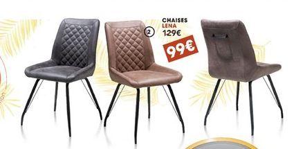 Chaise offre à 99€