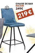 Chaise de bar offre à 219€