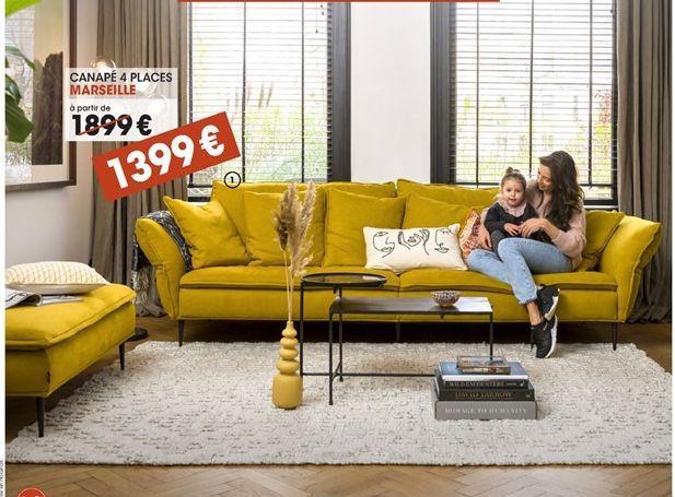 Canapé offre à 1399€