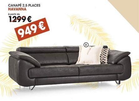 Canapé offre à 949€