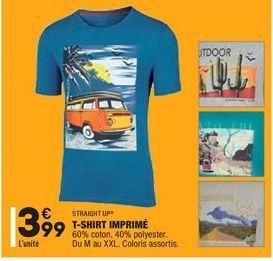 T-shirt imprimé offre à 3,99€