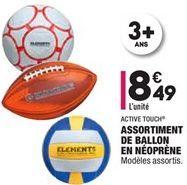 Assortiment de ballon en néoprène offre à 8,49€