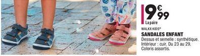 Sandale enfant offre à 9,99€