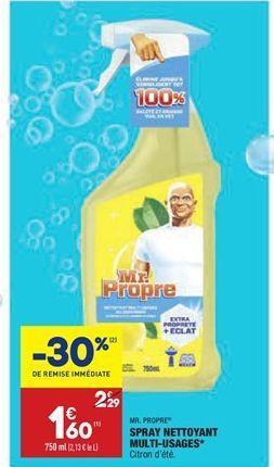 Spray nettoyant multi-usages  offre à 1,6€