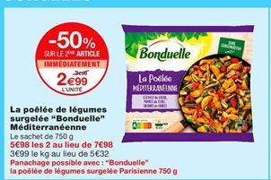Poêle Bonduelle offre à 2,99€