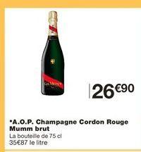 Champagne offre à 26,9€