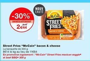 Frites surgelées McCain offre à 2,44€