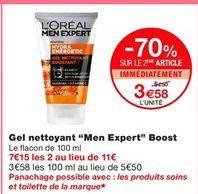 Gel L'Oréal offre à 3,58€