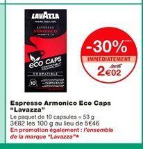 Café lavazza offre à 2,02€