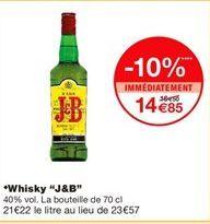 Whisky offre à 14,85€