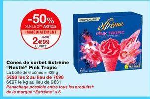 Glace Nestlé offre à 2,99€