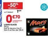 Glace Mars offre à 0,7€