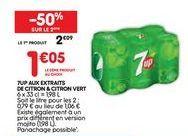 Boissons gazeuses offre à 1,05€