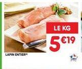 Lapin offre à 5,19€