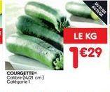 Courgettes offre à 1,29€