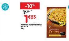 Frites surgelées offre à 1,23€