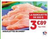 Dinde offre à 3,89€