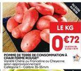 Pommes de terre offre à 0,72€