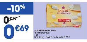 Sucre offre à 0,69€
