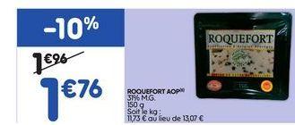 Roquefort offre à 1,76€