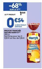 Brioche Harry's offre à 0,54€