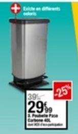 Poubelle cuisine offre à 29,99€