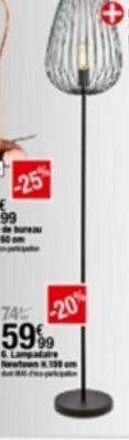 Lampe offre à 59,99€
