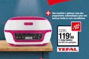 Ménage de cuisine Tefal offre à 119,99€