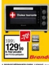Four Brandt offre à 129,99€