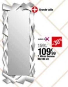 Miroir offre à 109,99€