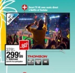 Téléviseur offre à 299,99€