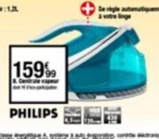 Centrale vapeur Philips offre à 159,99€