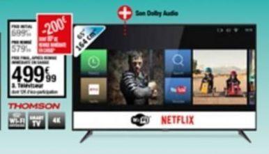 Téléviseur offre à 499,99€