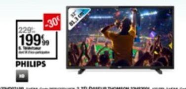 Téléviseur offre à 199,99€
