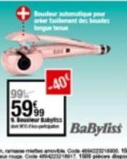 Sèche-cheveux Babyliss offre à 59,99€