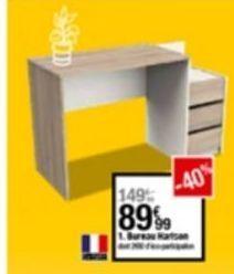 Bureau offre à 89,99€