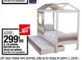 Lit offre à 299,99€