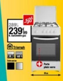 Cuisinière à gaz offre à 239,99€