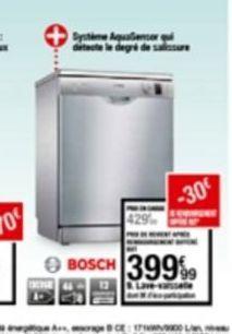 Lave-vaisselle offre à 399,99€
