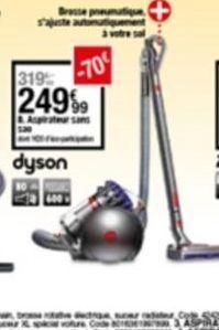 Aspirateur offre à 249,99€