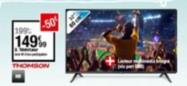 Téléviseur offre à 149,99€