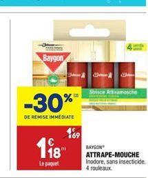 Attrape-mouches offre à 1,18€