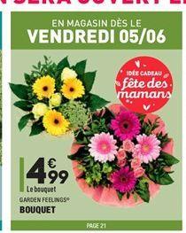 Bouquet  offre à 4,99€