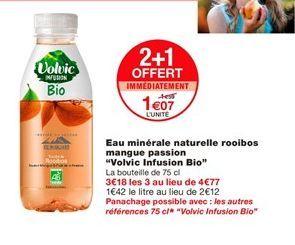 Eau Volvic offre à 1,07€