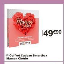 Coffret cadeau offre à 49,9€