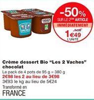 Crème Danone offre à 1,49€