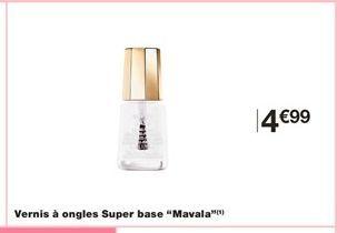 Vernis à ongles Super base Mavala offre à 4,99€