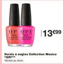 Vernis à ongles offre à 13,99€