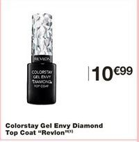 Colorstay Gel Envy Diamond Top Coat Revlon offre à 10,99€