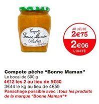 Compotes offre à 2,06€